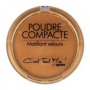poudre compacte miss europe chocolat