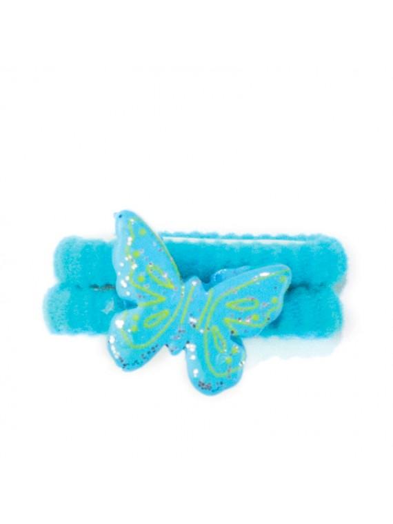 chouchou papillon paillettes miss princesse