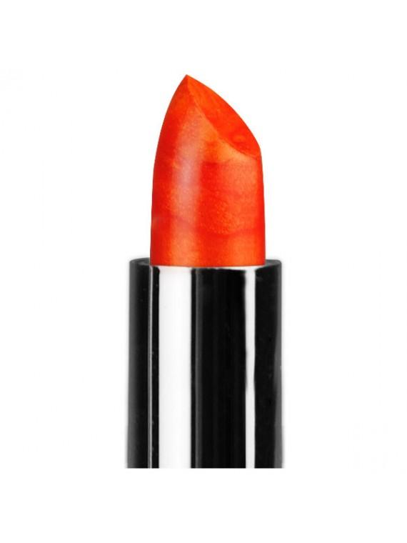 lèvres rouge orange miss europe