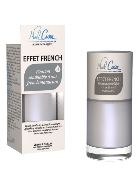 vernis soin effet french