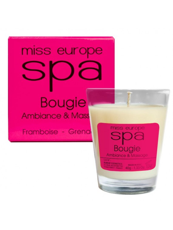 bougie massage framboise grenade spa