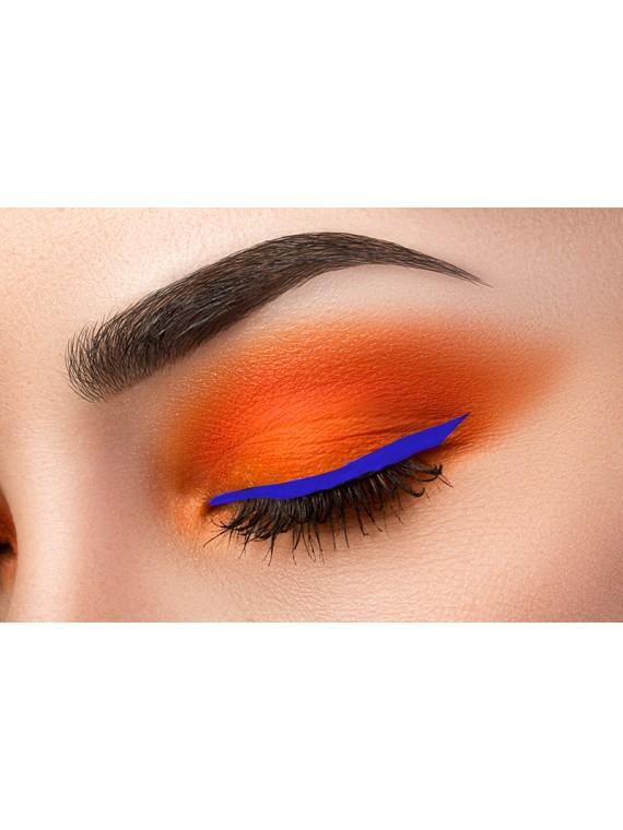 eyeliner pinceau bleu miss europe