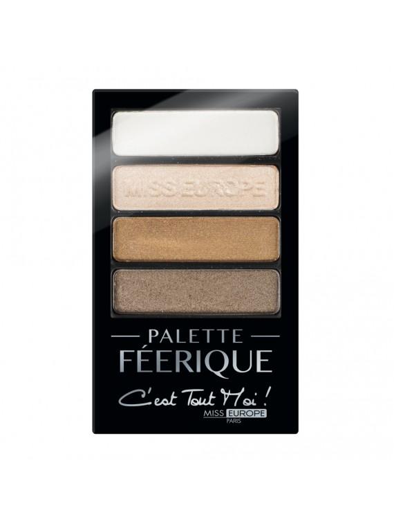 palette féerique bronze miss europe