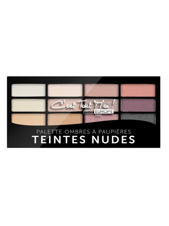 palette teinte nude miss europe