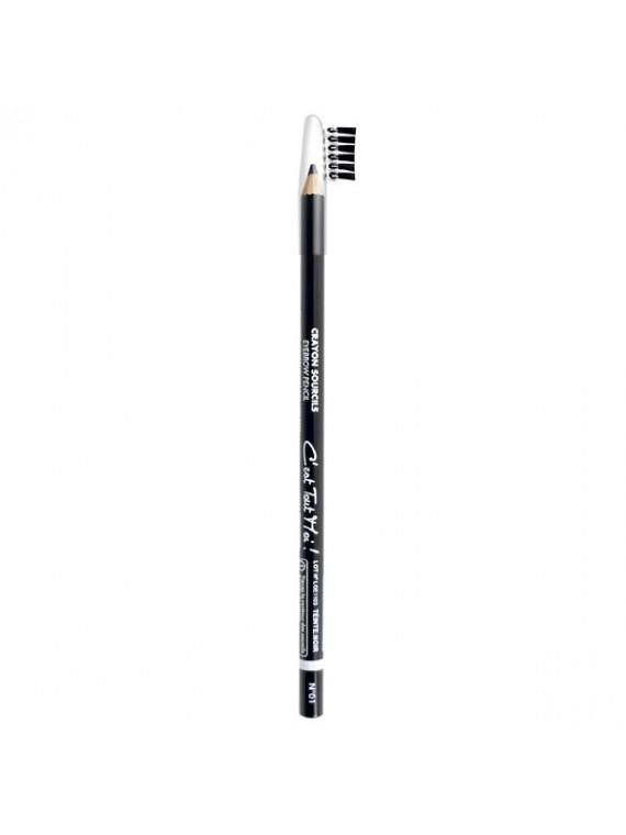 maxi crayon sourcils noir miss europe